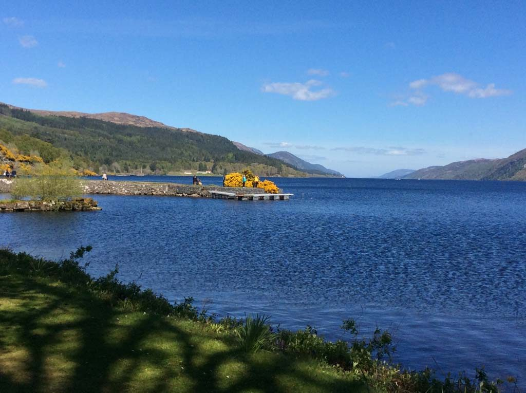 The Foot of Loch Ness