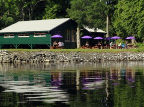 On-site Boat House restaurant