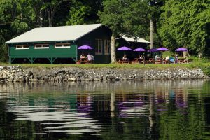 The on site Boat House Restaurant.