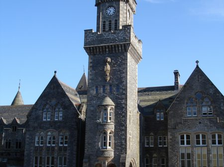 Clock Tower at The Old School