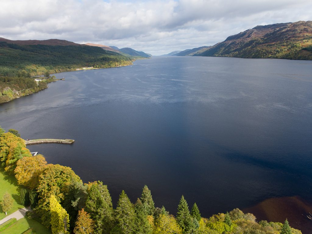 Loch Ness, moments away from Highland Club Scotland