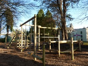 Kids adventure playpark