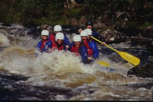 The Highland Club Loch Ness White Water Rafting