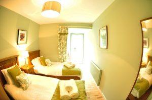 Abbey Garden twin bedroom