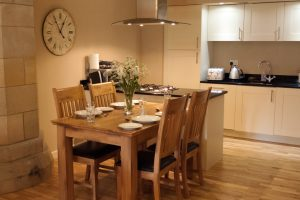 Abbey Garden kitchen and dining area