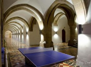 Ping Pong in the Cloisters