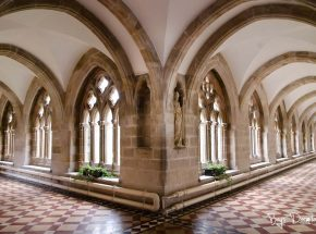 Boys Dormitory leads onto the Cloisters