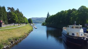 Fort Augustus Caledonian Canal