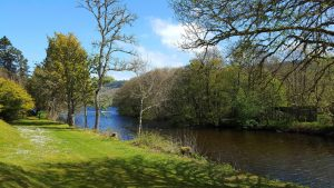 The River Tarff on your doorstep.