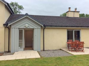 Garden Cottage has its own patio.