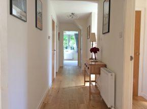 Cottage 9 hallway