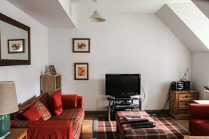 Moat House 7, living room