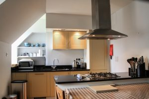 Moat House 7, open plan living/kitchen/dining area