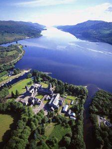The Highland Club, Loch Ness, Scotland