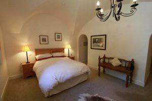 Majors Apartment master bedroom with en suite bathroom