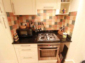 Major's Apartment, separate kitchen area