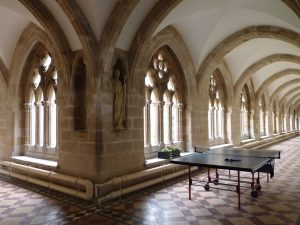 Table Tennis in The Cloisters