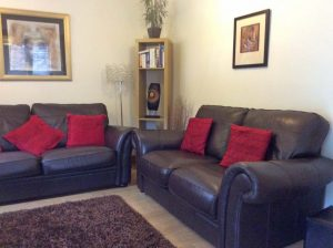 Highland Retreat, cosy living room