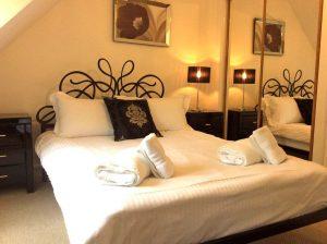 Highland Retreat, master bedroom