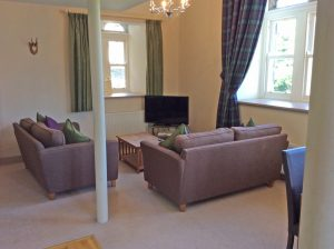 Old School 12 open plan living room
