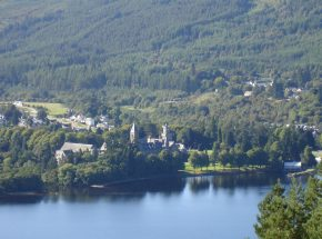 The Highland Club from South Loch Ness.