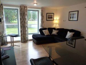 Ceud Mille Failte stylish living area