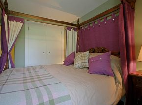 Magical four poster bed