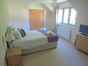 Taigh nan Caorach master bedroom