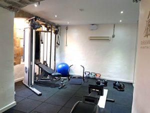 The Highland Club Fitness studio