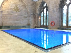 The Highland Club swimming pool