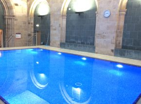 Highland Club Scotland Loch Ness swimming pool