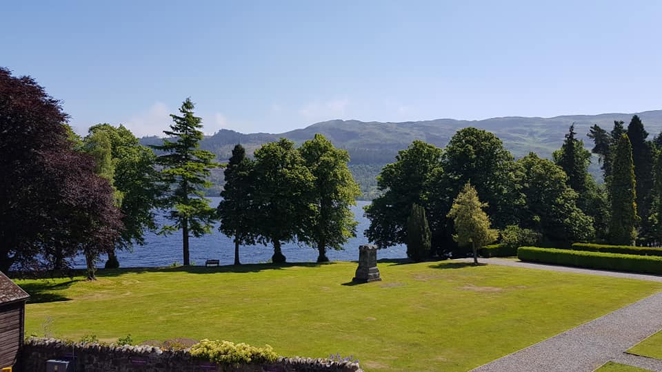 June in Loch Ness in Top of the Fort
