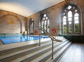 Shared, heated swimming pool