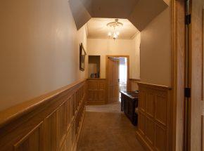 Struan at the Highland Club, hallway