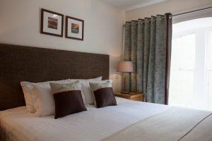Glendoe in Loch Ness twin bedroom