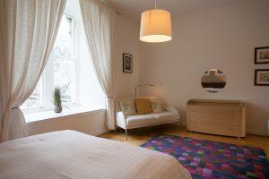 Large, spacious master bedroom