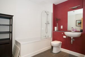 First of 3 bathrooms in Nevis, Loch Ness holiday home