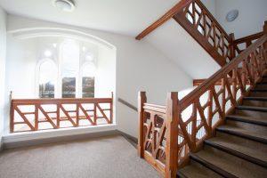Monastery staircase