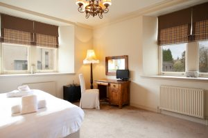 Fraser master bedroom has views from two sides