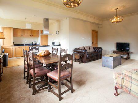 Fraser open plan living/kitchen/dining area