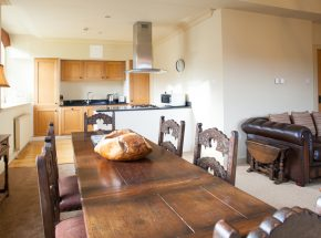 Fraser kitchen and dining area
