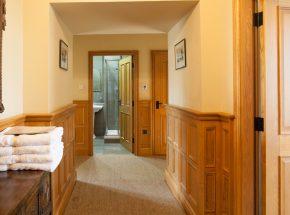 Fraser Apartment hallway