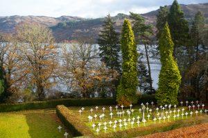 The Monks' Graveyard from Fraser