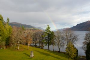 The view from Fraser towards Loch Ness