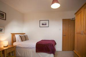 Gruinyards twin bedroom