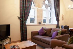 The Caledonian comfortable living area