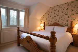 Master bedroom is spacious and bright