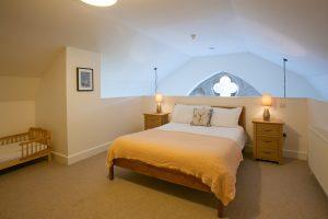 Large and spacious mezzanine bedroom