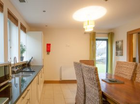 Bright kitchen area