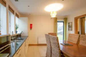 Bright kitchen area
